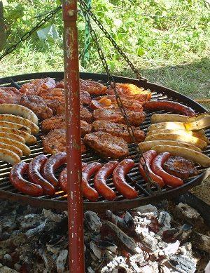 Kanutour mit Grillen